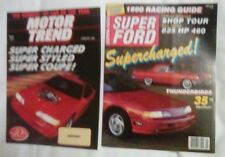 SUPER FORD MARCH 1990 FORD THUNDERBIRD THUNDERBIRD SUPER COUPE + MT REPRINT