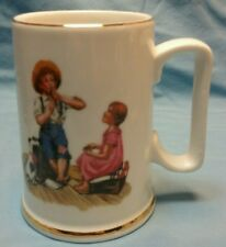"1986 Norman Rockwell ""Music Master"" coffee cup"
