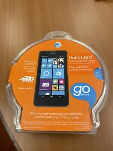 Nokia Lumia 635 - 8GB Black (AT&T) SmartphoneGo Phone - No annual contract NEW