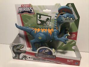 Playskool Heroes Jurassic World Chomp & Roar  DILOPHOSAURUS Dinosaur Figure NEW