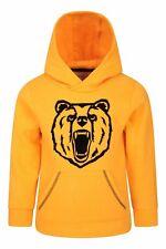 Mountain Warehouse Uni Bear Flock Print Kids Hoodie