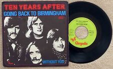 Ten Years After 45 Tours Going Back To Birmingham 1974