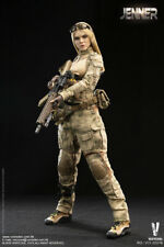 1/6 Very Cool VCF-2037B Blonde JENNER fig in A-TACS FG Women Soldier Uniform