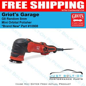 Griot's Garage G8 Mini Random Orbital Polisher 8mm Orbit * BRAND NEW * 10908