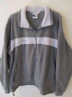 Columbia Mens Fleece Jacket Green Sz XL Full Zip Core Interchange