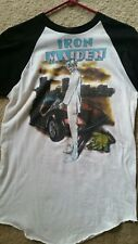 Vintage IRON MAIDEN t-shirt 1987 SOMEWHERE IN TIME TOUR in Florida