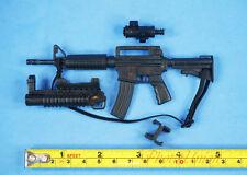 1:6 Scale Action Figure M4 Carbine RIFLE SOPMOD M203 Grenade Launcher K1191 ABDE
