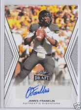 CFL Edmonton Eskimos QB James Franklin 2014 Leaf Draft Autograph Rookie AUTO RC