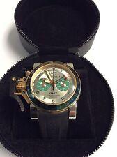 Graham Chronofighter Oversize Steel/18K Gold Wristwatch
