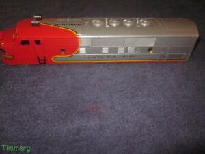 Lionel Trains 2353 Santa Fe F3 Diesel Locomotive Shell Cab w/Trim Nice EXC. #SS