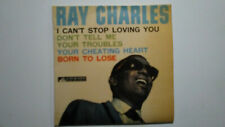 RAY CHARLES I CAN'T STOP LOVING YOU EP+PS VOCE DEL PADRONE ITALY