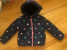 NWT Gymboree Baby Girl Polka Dot Water Resistant Puffer Jacket 4T Months $69