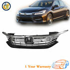 Front Replacement Upper Bumper Grille For 2016-2017 Honda Accord Sedan For Sale