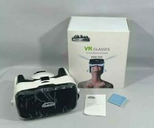 VR Virtual Reality Glasses With Integrated Headphones