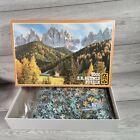 FX Schmid 3000 Piece Puzzle St. Johann Geisler Peaks Rare - Contents Sealed