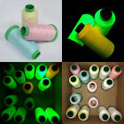 3000 Yards Luminous Glow In The Dark Machine Embroidery / Sewing DIY Thread