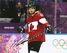 Marc-Edouard Vlasic SHARKS CANADA Sochi Olympic Signed Auto 8x10 PHOTO COA