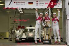 Fassler & Lotterer & Treluyer Audi R18 TDi Winners Le Mans 2011 Photograph 20