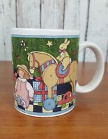 Susan Winget Coffee Mug Cup Christmas Presents Under the Tree Holiday Gift