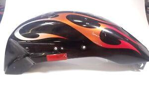 06 Honda VTX1800 C F S R Rear Wheel Fender Flame