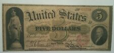 EARLY 1863 $5 *GREEN BACK* LEGAL TENDER 63220