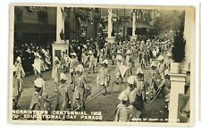 RPPC Centennial Parade 1912 NORRISTOWN PA Montgomery County Real Photo Postcard