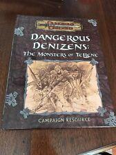Kenzer Kingdoms of Kalamar d2 Dangerous Denizens - The Monsters of Tellen NEW