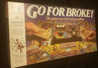 Go for Broke Board Game - MB Games 1985 edition - 99% Complete. Vintage/Retro