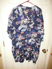 a961a44ca New England Patriots NFL button down dress shirt Hawaiian 5x Big  Tall with  tags