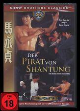 DVD DER PIRAT VON SHANTUNG - 44 Min längere Fassung - SHAW BROTHERS - FSK 18 NEU