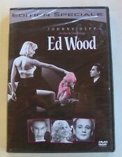 DVD ED WOOD - Johnny DEPP / Martin LANDAU - Tim BURTON - NEUF