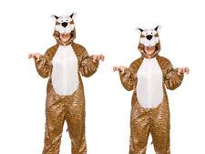 Tigre Costume Combinaison Zoo Unisexe chat SEMAINE DU LIVRE JOUR Déguisement OS