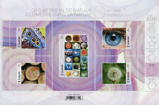More details for belgium science stamps 2021 mnh geometry in nature the circle patterns 5v m/s