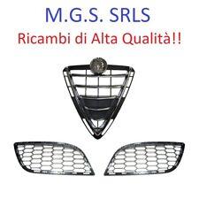 Kit Completo Scudo cromato + Griglie paraurti ALFA ROMEO GIULIETTA 2010/2016