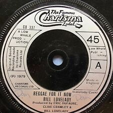 Bill Lovelady - Reggae For It Now / Reggae For Strings - Charisma CB-337 Ex