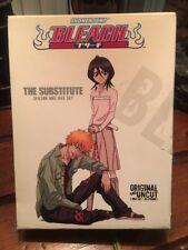 Shonen Jump Bleach Original and Uncut The Substitute Season 1 Box 5 Disc DVD Set
