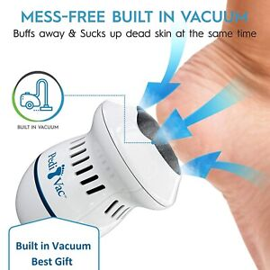 Ped Vac,Callus Remover for Feet with Vacuum Removes Dead Skin from Feet 2000 RPM