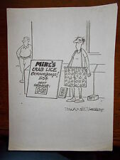 Original Hustler Humor Art By  Dwaine  Tinsley Signed