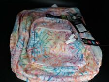 Trans by JanSport 17 Supermax Backpack - Tie Dizzle White Gray Strip