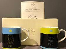 Lenox -Daddy & Me Mug Set- Play with Cars-Nib