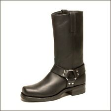 NEW Mens FRYE Harness Boots 12R Size 7.5 W 87350-1  Black