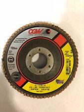 """CGW 4-1/2"""" x 1/2 x 7/8  Flap Disc Z3-40 (10 Pieces)"""