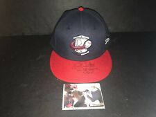 Drew Waters Atlanta Braves Autographed Signed 2016 Game Used Hat Cap 3