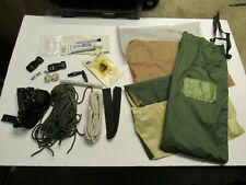 USMC Eureka Diamond Combat Tent Repair Kit Small Parts TCOP & 2 Man OD Tan