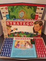 Vintage Stratego Board Game Complete Milton Bradley 1970s Ages 10-Adult