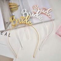 Team Bride Tiara Crown Headband Hen Party Wedding Bridal Shower Girls Hair Hoop