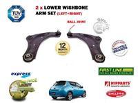 Per Nissan Leaf Elettrico 2010-2013 Nuovo 2X Sospensione Inferiore Anteriore