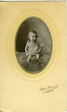PHOTO NANTES PETIT RENAUD JEAN A DIX MOIS POSE BABY BEBE 1890
