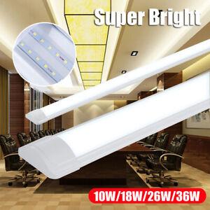 2FT/3FT/4FT Super Bright LED Batten Linear Slim Tube Light Ceiling Surface Lamp