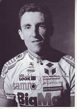 CYCLISME carte cycliste THIERRY BOURGUIGNON équipe BIG MAT AUBER 93 signée